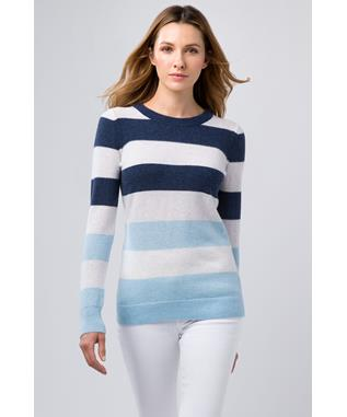 MODERN STRIPE CREW CRYSTAL MULTI