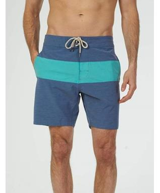 "CLASSIC BOARDSHORT (""7"") NAVY GREEN"