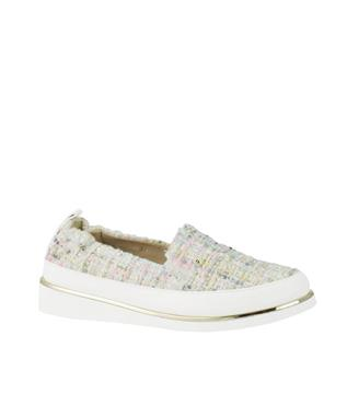 SHA-NELL BOUCLE SLIP ON SNEAKER PINK MULTI