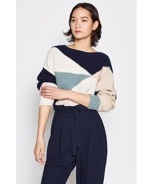 MEGU SWEATER PORCELAIN MULTI