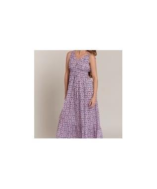 TRAN VALERIA LONG DRESS ROSE