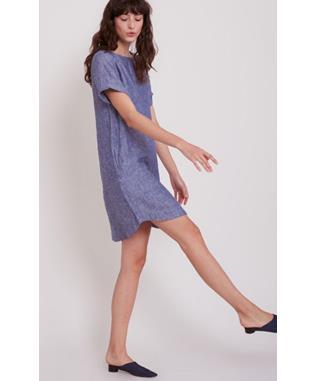 HINATA DRESS NAVY