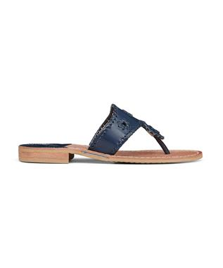 JACKS FLAT SANDAL MIDNIGHT