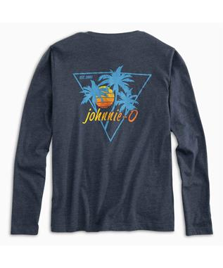 BOYS PALMS SUNSET JR. LONG SLEEVE T-SHIRT TWILIGHT