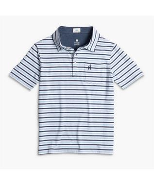 BOYS PALMETTO STRIPED JR. POLO WAKE