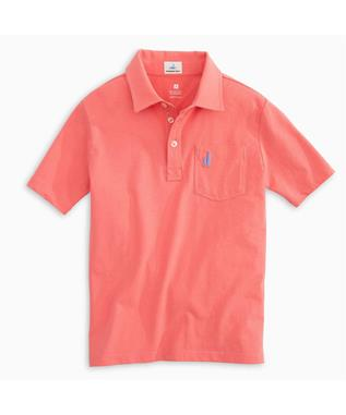 BOYS THE ORIGINAL JR POLO CORAL REEFER
