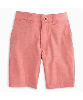 BOYS WYATT JR. PREP-FORMANCE SHORTS 606-LOBSTER