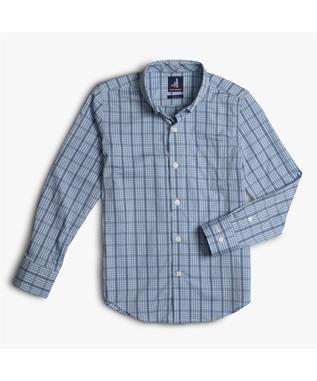 BILLIE JR. PREP-FORMANCE BUTTON DOWN SHIRT GULF BLUE