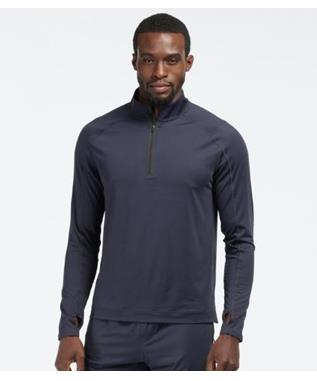 COURTSIDE 1/4 ZIP NAVY