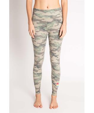 KIND IS COOL CAMO LEGGING OLIVE