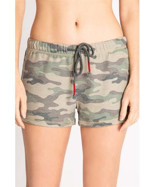 KIND IS COOL CAMO SHORT OLIVE