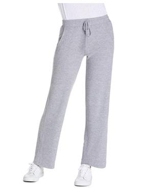 ILYSE STRAIGHT LEG PANT HEATHER GREY