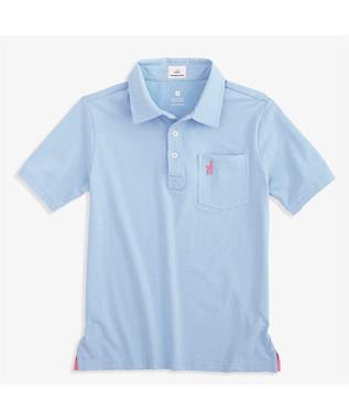 BOYS THE ORIGINAL JR POLO GULF BLUE