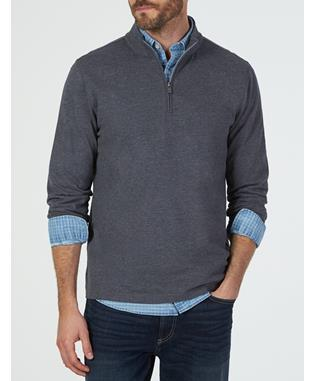SUFFOLK PULLOVER CHARCOAL
