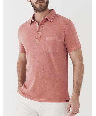 SUNWASHED POLO NEW RED