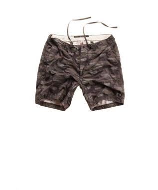 JUNGLE FATIGUE SHORT CHARCOAL CAMO