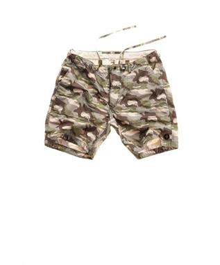 JUNGLE FATIGUE SHORT SAND CAMO