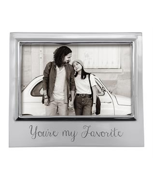 YOURE MY FAVORITE 4 X 6 SIGNATURE FRAME N/A