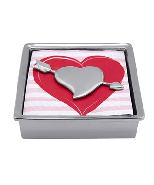 CUPID HEART SIGNATURE NAPKIN BOX N/A