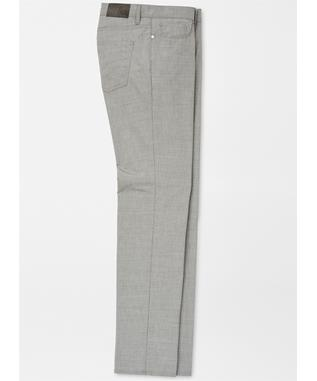 COLLECTION MONACO WOOL STRETCH FIVE-POCKET TROUSER ARGENTO
