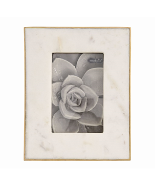 MARBLE & GOLD FRAME 5 X 7