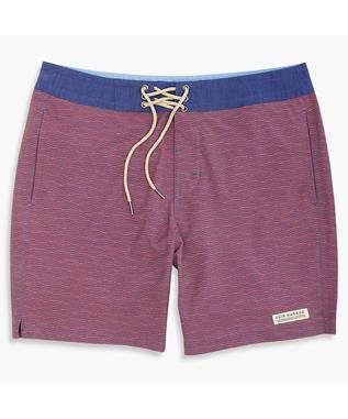 THE NAUTILUS BOARDSHORT RED WAVES