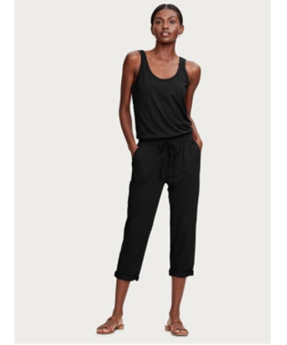JUMPSUIT WITH ELASTIC WAIST AND DRAWSTRI