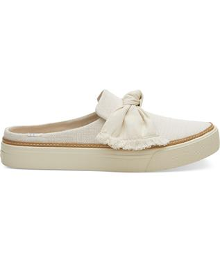 SUNRISE CANVAS SLIP-ONS NATURAL CANVAS