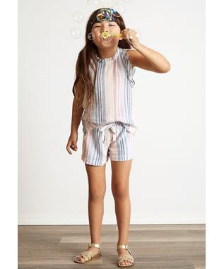 GIRLS EASY SHORT IBIZA STRIPE