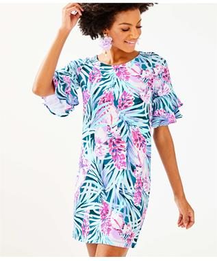 LULA DRESS 4390MR. PEACOCK TWEETHEARTS