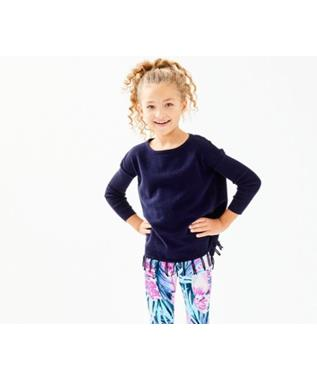 GIRLS MINI RAMONA SWEATER 408-TRUE NAVY