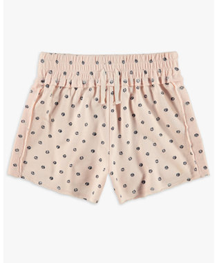 GIRLS DOT PRINT SHORT CLOUD PINK