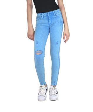 GIRLS COLOR DENIM SKINNY BLUE ASTER