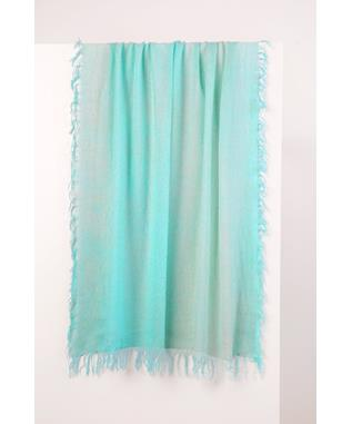 SPRAY PRINT SCARF LAGOON