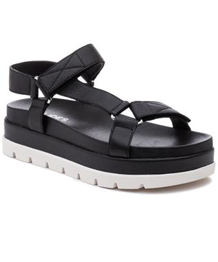BLAKELY VELCRO SANDAL BLACK