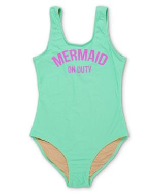 MERMAID ON DUTY SWIMSUIT MINT