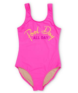 POOL DAY ALL DAY SWIMSUIT PINK