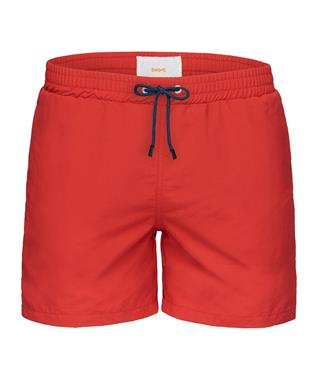 BREEZE SWIM SHORT LONG RED ALERT