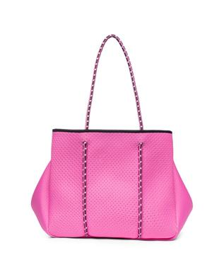 SPORTY SPICE NEOPRENE TOTE ROSE