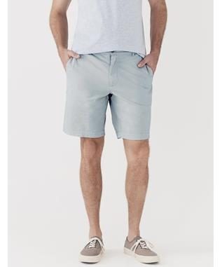STRETCH CHINO SHORT VESTAL BLUE