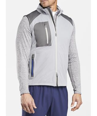 CROWN SPORT CALGARY STRETCH SHOWER VEST GALE GREY