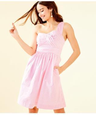 WOMENS ADDISON DRESS 643 PINK TROPIC