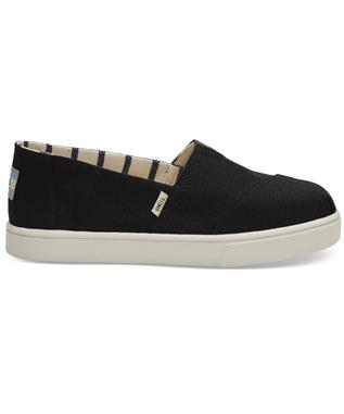 ALPARGATA CUPSOLE SLIP ON BLACK