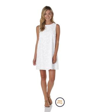 Melody Dress  Embroidery - White WHITE