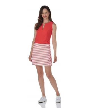 Morgan Skort  Jude Cloth - Summer Stripe SUMMER STRIPE CORAL