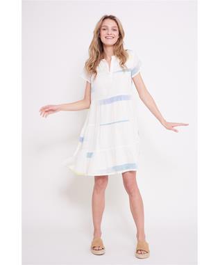 SAG HARBOR PAMELA DRESS NATURAL