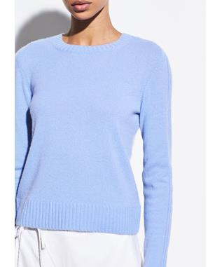 RIBBED CASHMERE CREW PALISADES