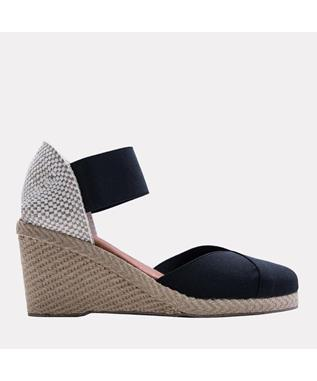 Anouka Mid Suede Sandal BLACK