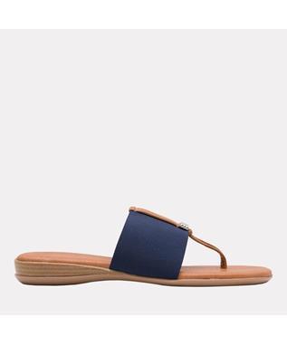 Nice Elastic Sandal  NAVY