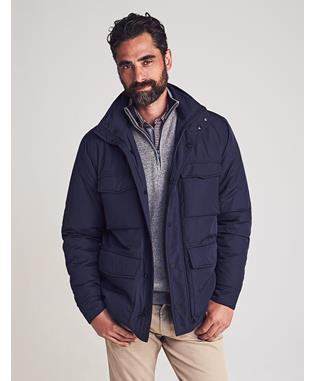 NYLON FIELD JACKET NAVY